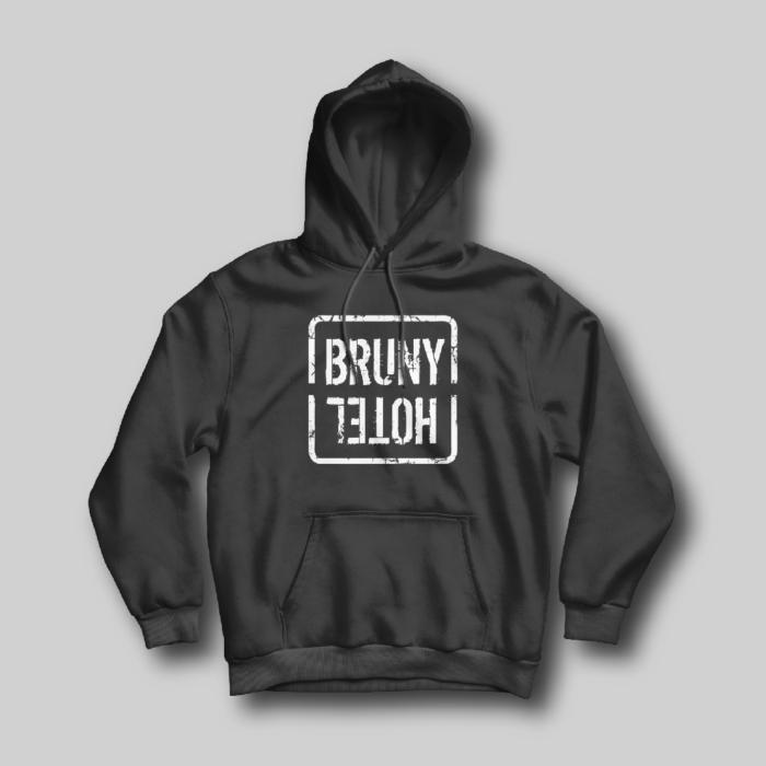 Bruny hotel Black hoodie
