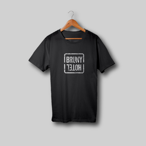 Hotel Bruny Mens Shirt Black